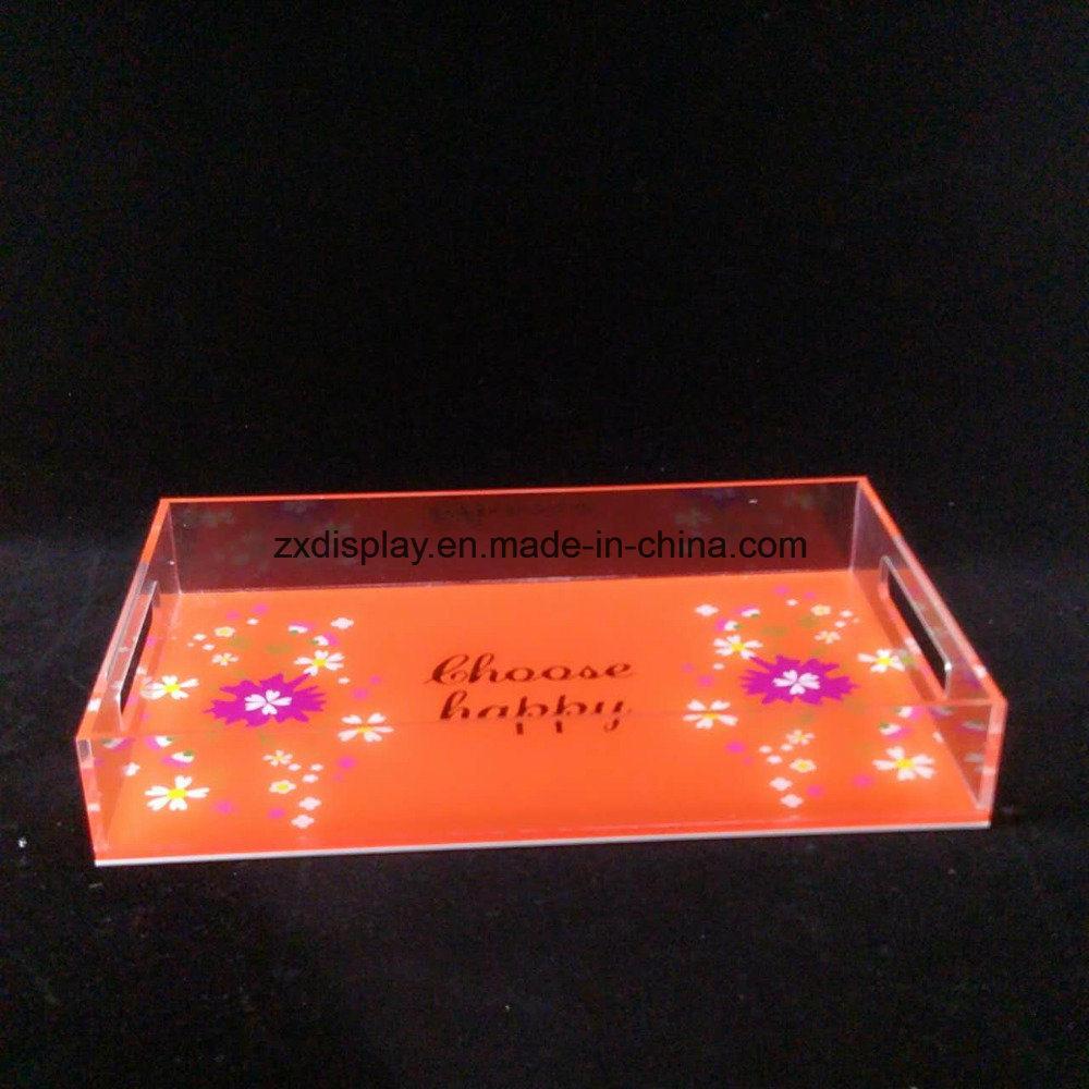 China Acrylic Saucer Tray for Hotel and Home - China Acrylic Tray ...