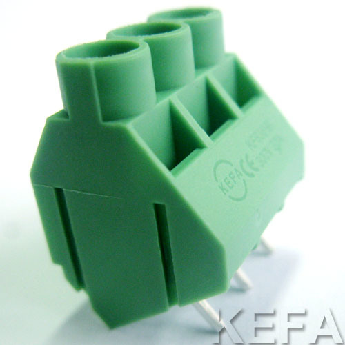 Screw Terminal Block for 45 Angle Wire Direction pictures & photos