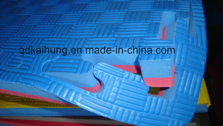 High Quality Cheap EVA Mats Five Stripes T Floor Foam Martial Arts Mats