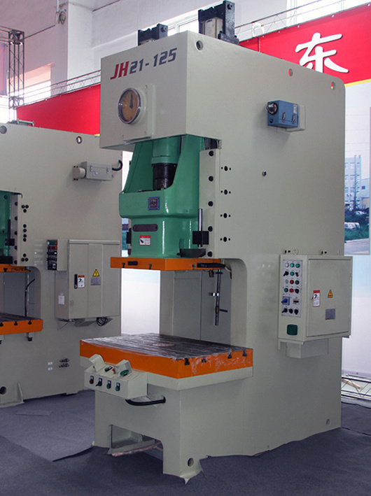 C Frame Pneumatic Power Press (punching machine) , Jh21-125ton