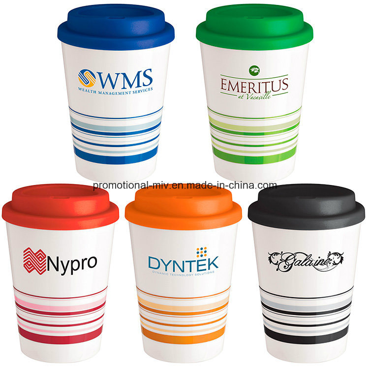 [Hot Item] Promotional Striped Coffee Cups
