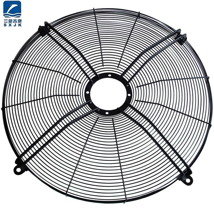 China Metal Axial Fan Guard Fan Grid Manufacturer