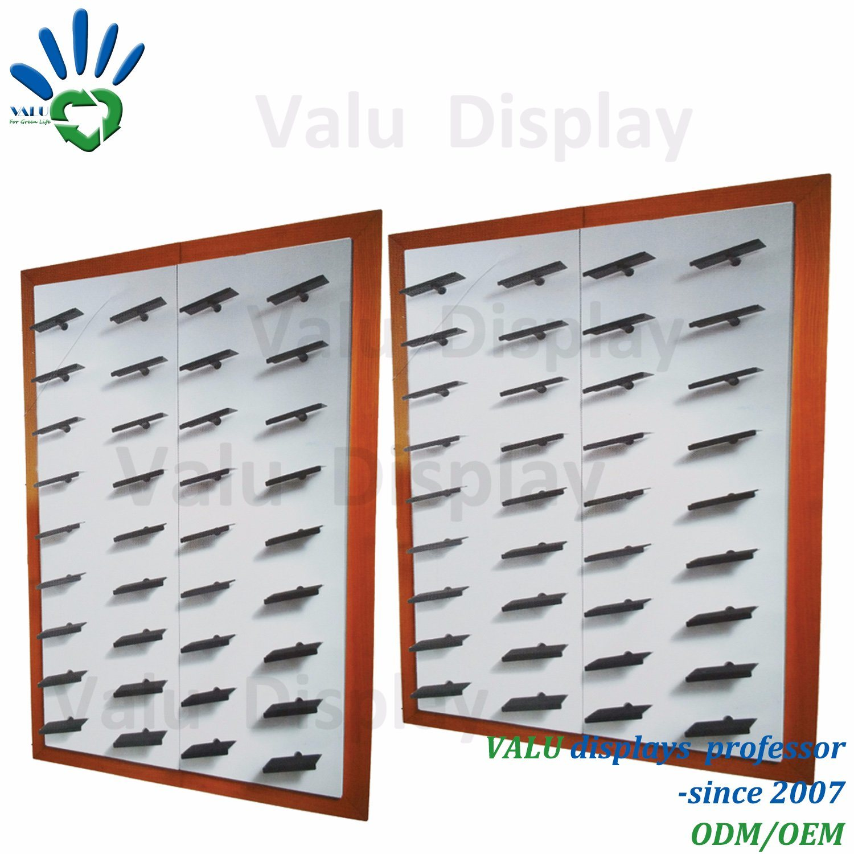 Hot Item Slatwall Pop Shoe Iron Metal Shelves Interior Design Wall Mount Store Retail Shoes Display Shelf