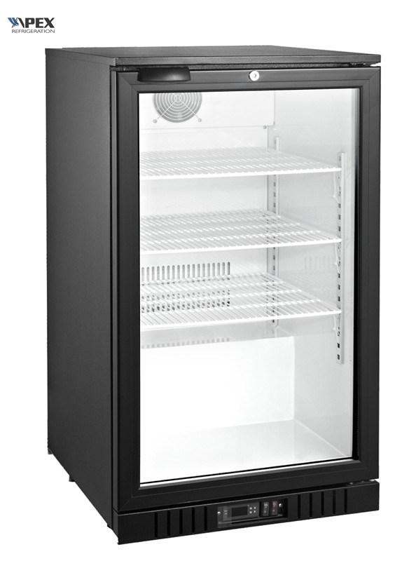 China High Quality Single Door Back Bar Cooler Under Beer Refrigerator