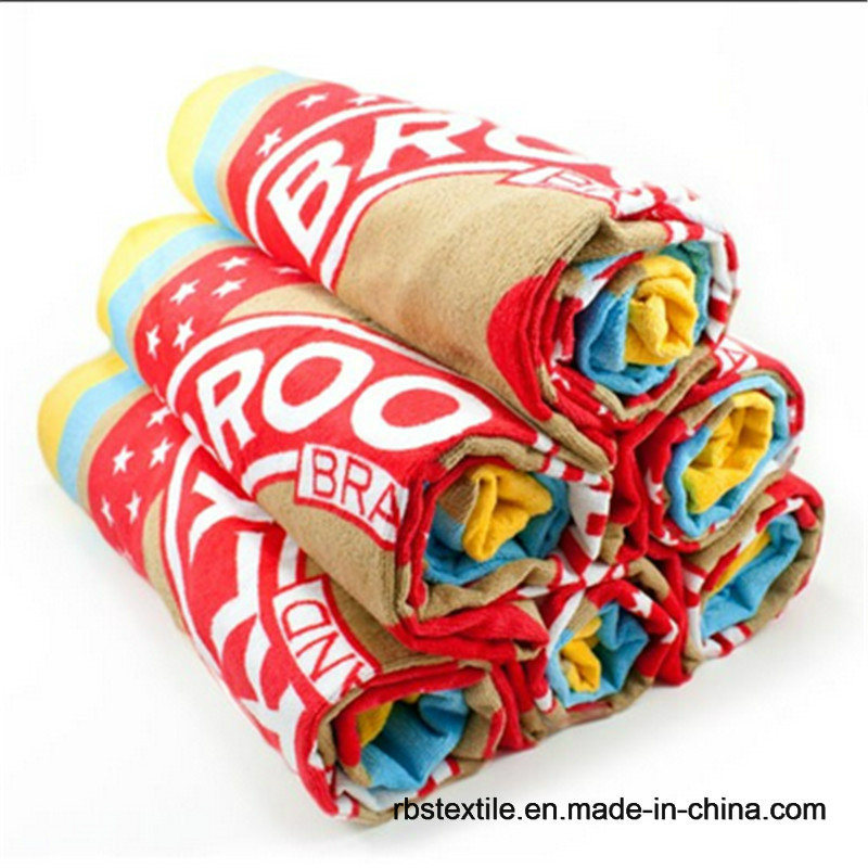 Cotton Yarn Dyed Beach Towel Jacquard Bath Towel with High Quality pictures & photos