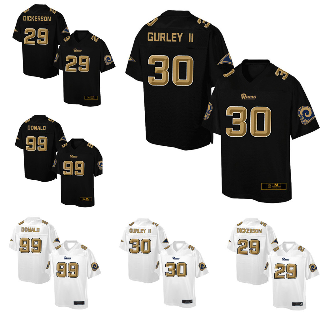 quality design c49af 24ba3 [Hot Item] New Style Aaron Donald Todd Gurley II Eric Dickerson Football  Jersey