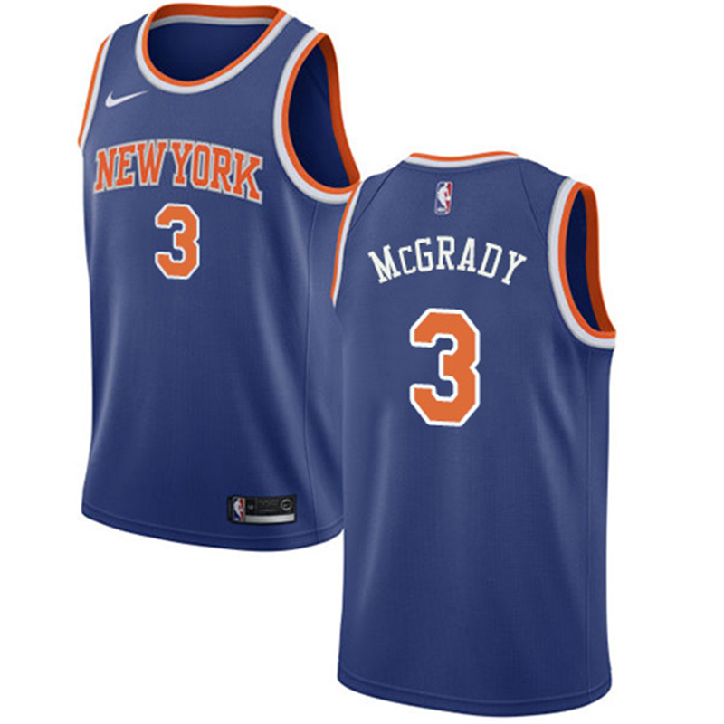 reputable site ae366 b0ecf China 2019 Wholesale Tracy Mcgrady Knicks Home Away Third ...