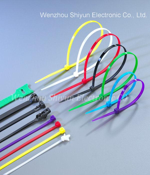 China Cable Ties (NYLON 66) , UV Black, Natural - China Plastic ...