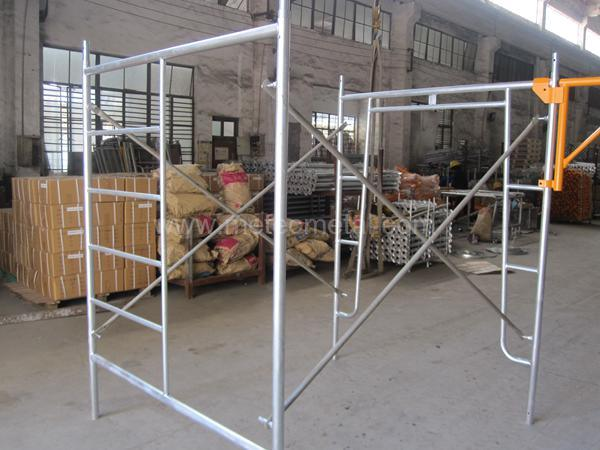 China Safe SGS Qualified a Frame Scaffold for Construction - China ...