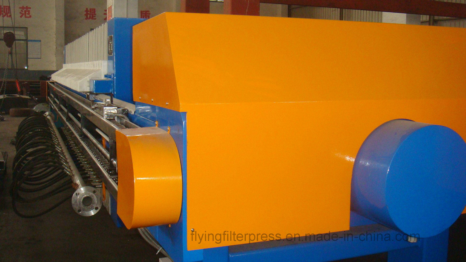 Sludge Dewatering Filter Press X1000 pictures & photos
