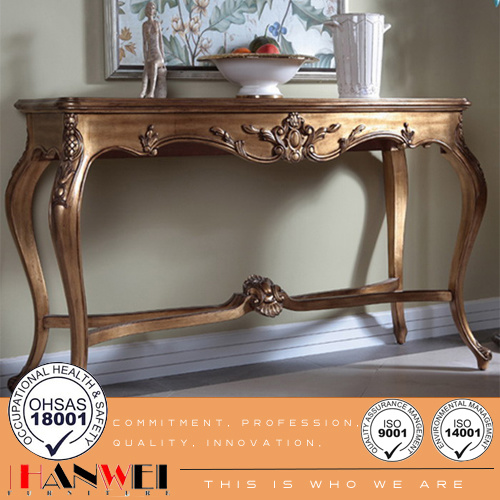 Hot Item Clic Wooden Furniture Carved Console Table