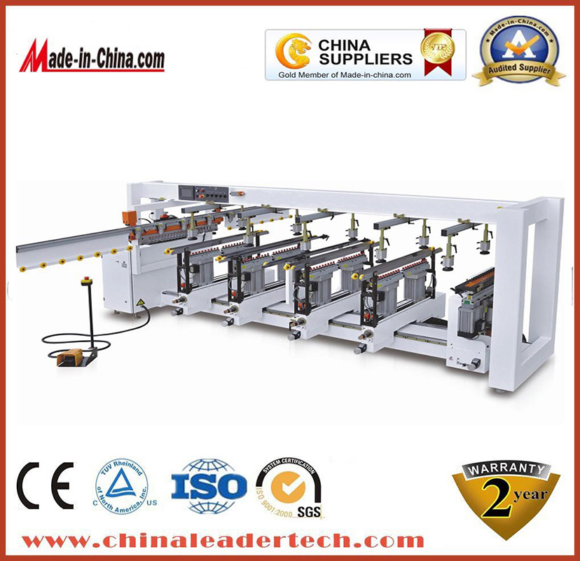 High Quality Woodworking 6 Rows Multi-Boring Machine