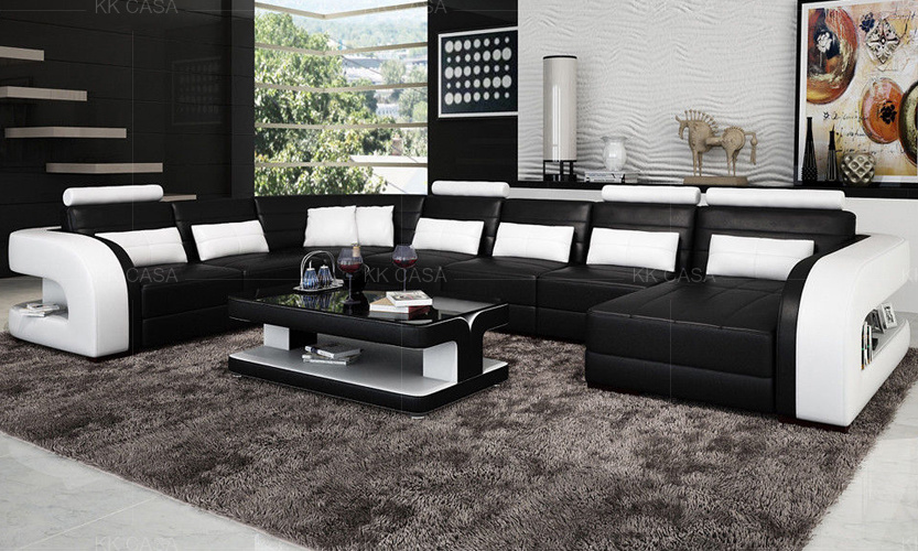 Modern Sofa With Led Furniture
