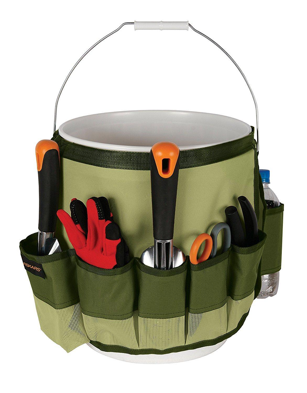 China Custom Made Outdoor Waterproof Garden Tool Bag Bucket Caddy