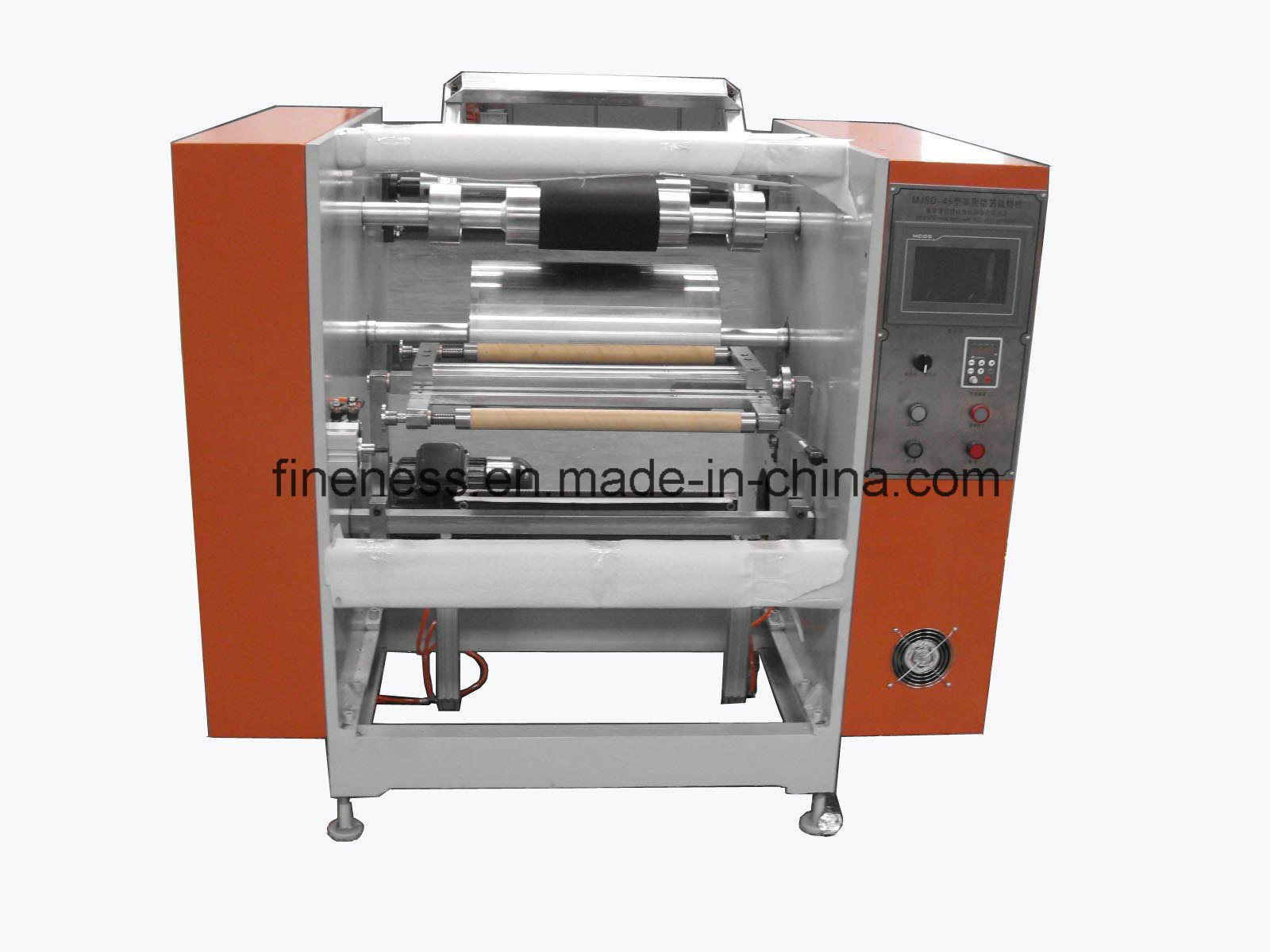 Aluminum Foil Rewinding and Slitting Machine pictures & photos