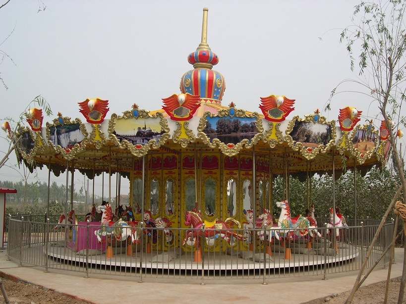 Merry -Go-Around - Kiddie Amusement Equipment