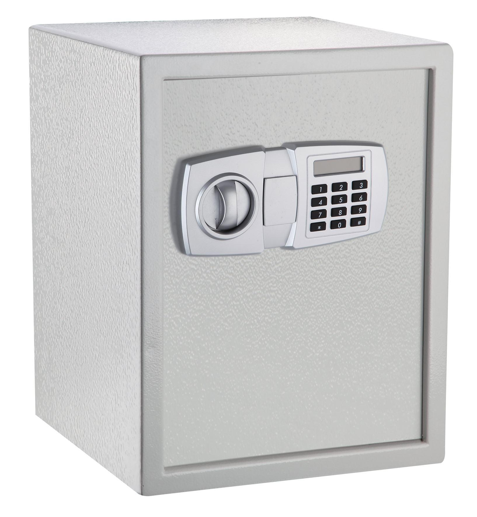 Electronic Safe Can Fix to Floor or Wall (E45LG)