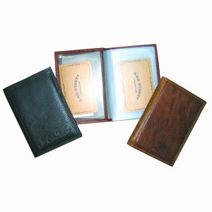 Genuine Leather Business Card Holder/Case/Pocket (JYW-27037)