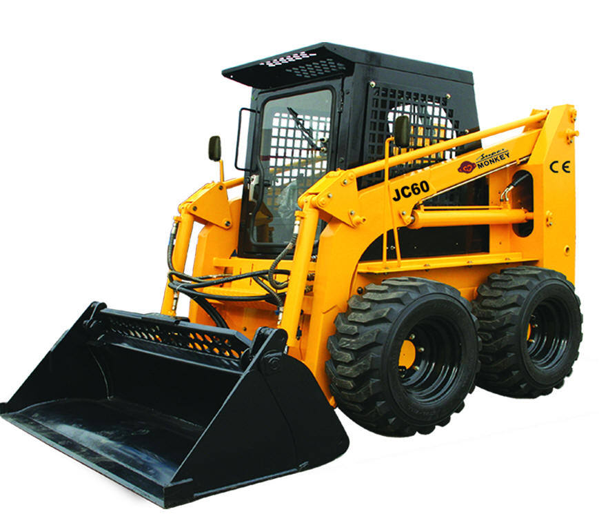 [Hot Item] China Bobcat, Construction Machine, Attachments, Loading  Capacity 850kg, Engine Power 60HP, Skid Steer Loader (JC60)