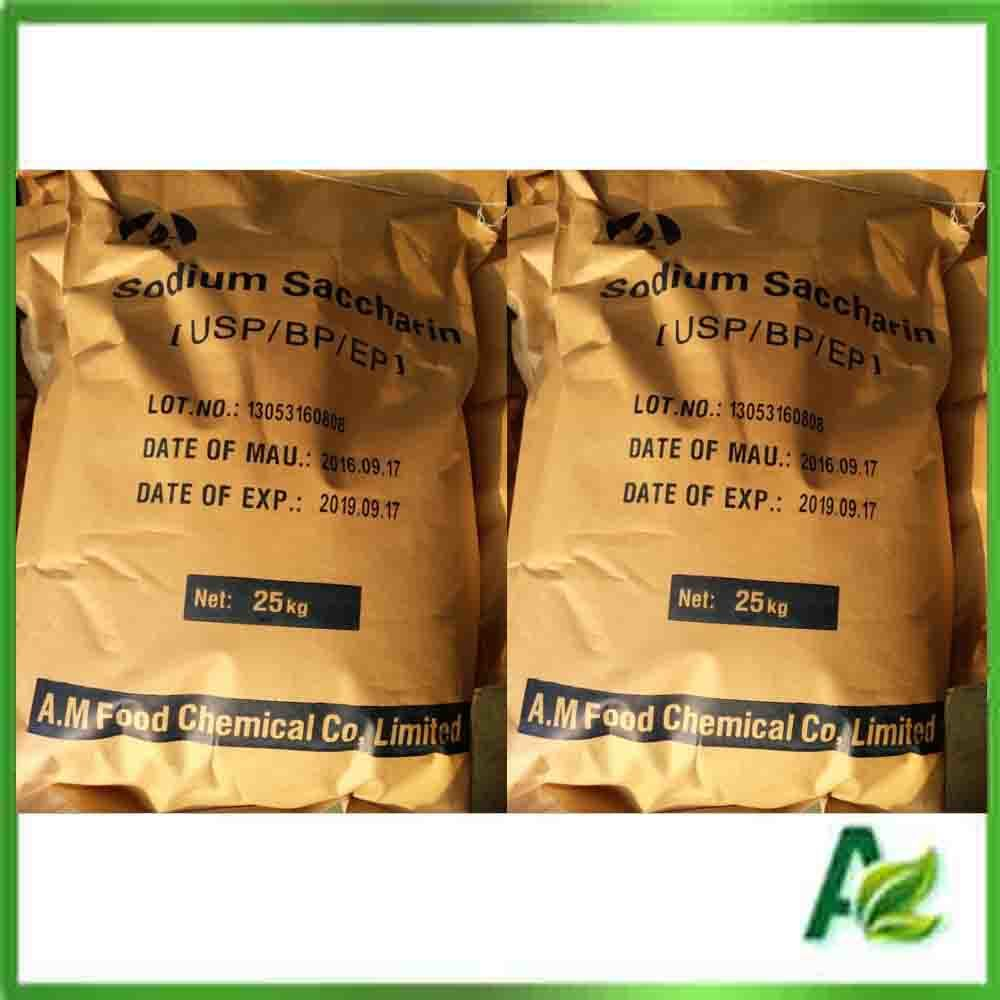 Food Grade Sodium Saccharin Anhydrous, CAS: 128-44-9 pictures & photos