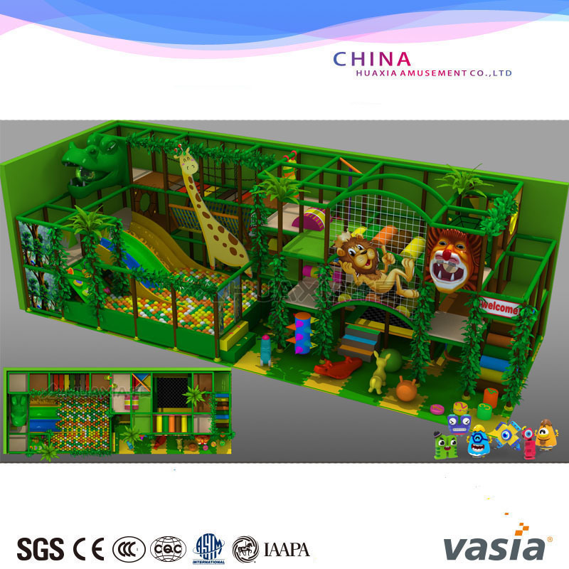 Indoor Soft Toys Playground for Kids Plastic Playground Selling Item pictures & photos