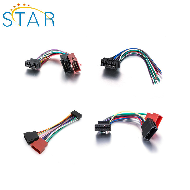 car radio stereo wire wiring harness to factory china factory price custom car audio stereo radio speaker wiring  car audio stereo radio speaker wiring