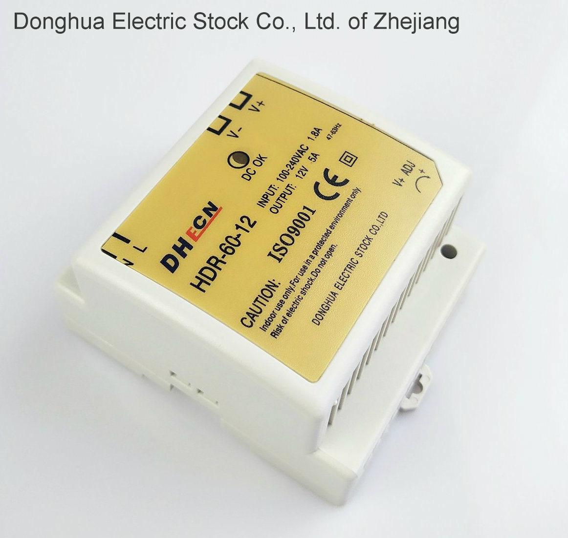 China Din Rail Type Switching Power Supply Universal Ac Input Full 12vdc To 230vac 60w Inverter Circuit Range 88 264 Vac Dc 12v 24v