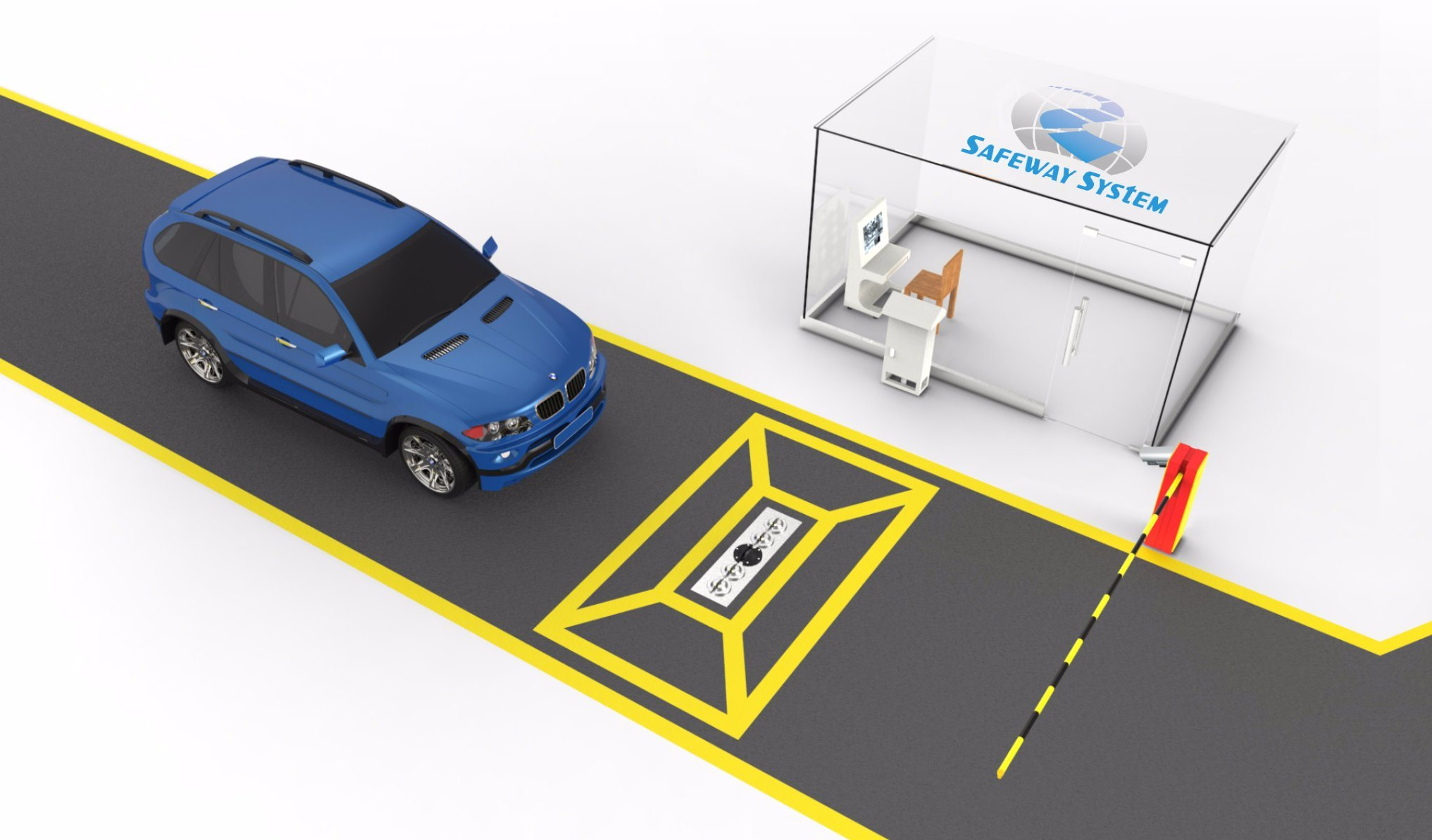 China Safety and Security Equipment Under Vehicle Inspection System - China  Under Vehicle Inspection System, Inspection System Uvss