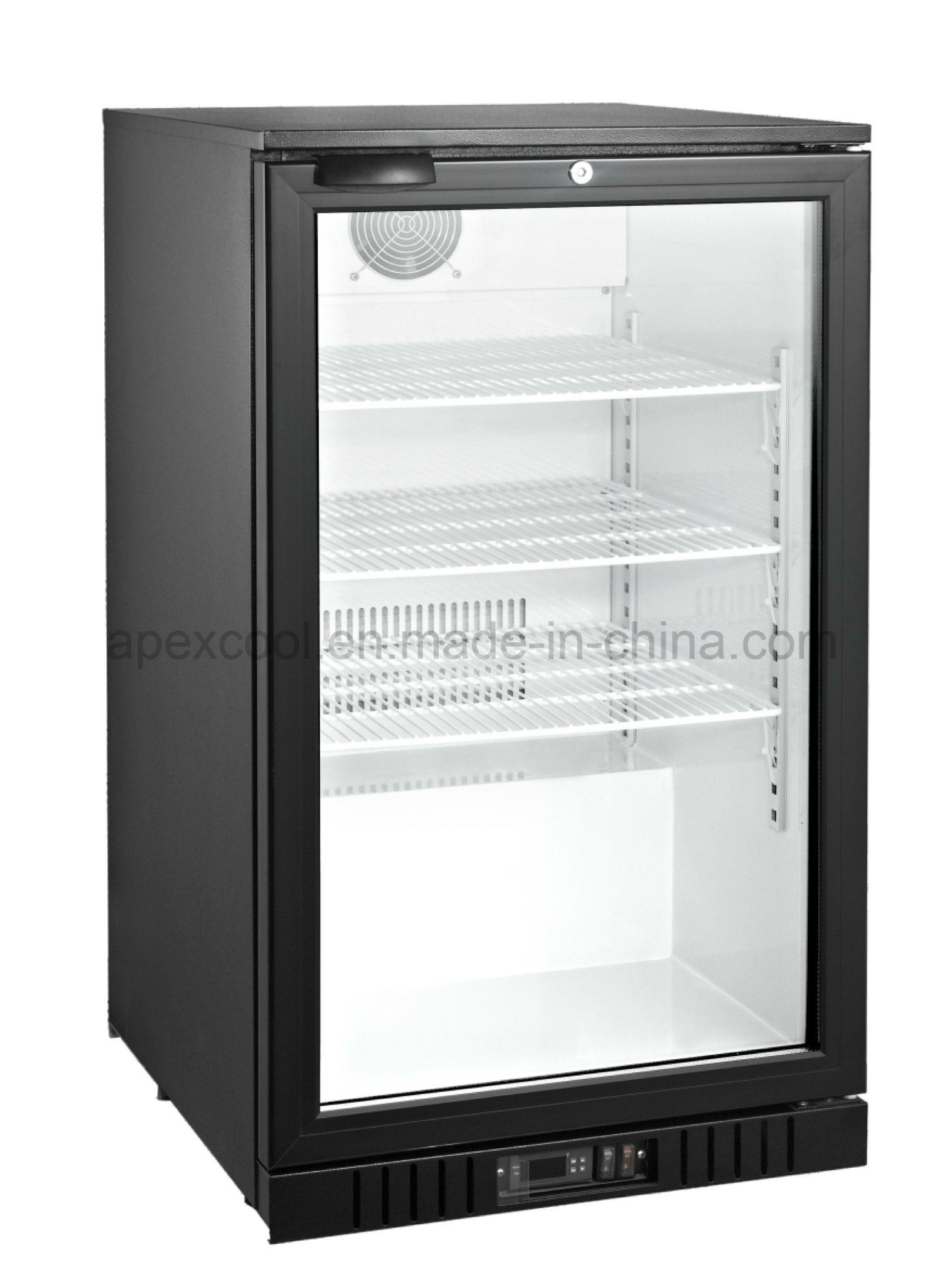 China Glass Door Mini Bar Fridge With Digital Controller China