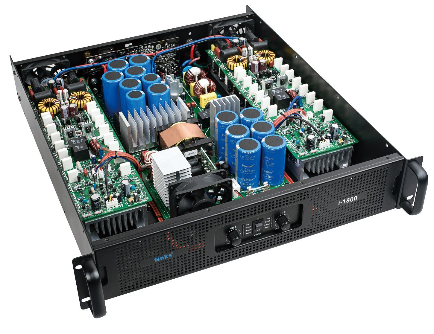 China 1800w Two Channels Smps Power Amplifier For Outdoor