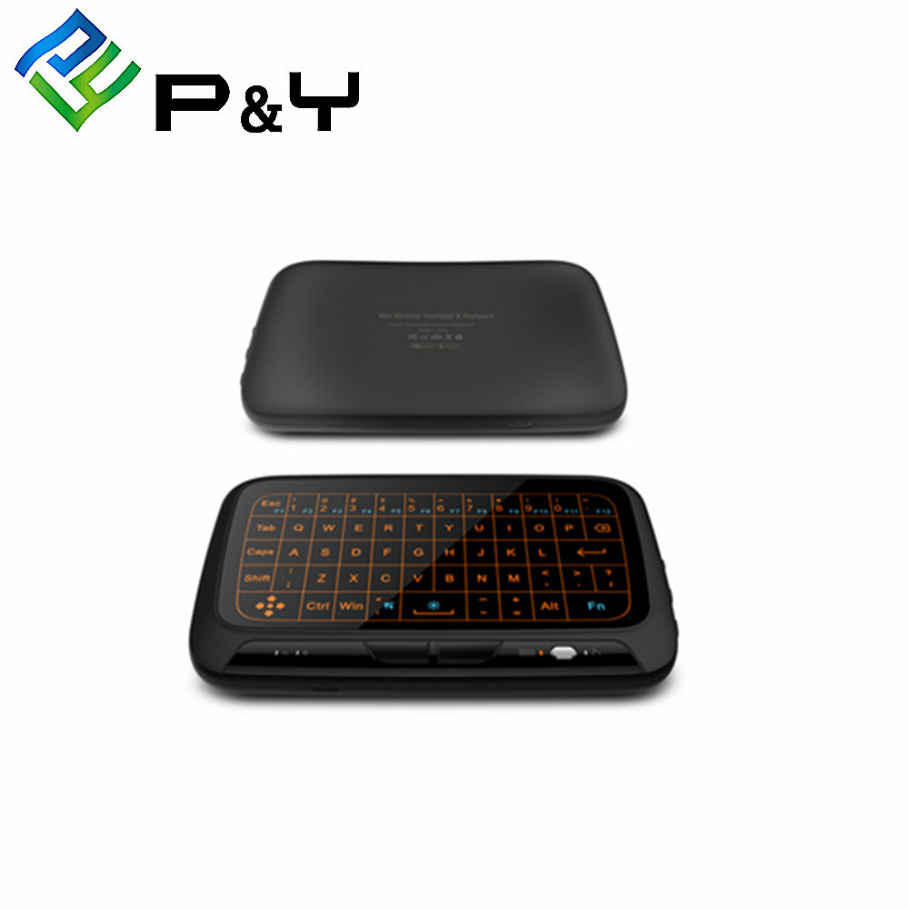 e05094d25bf H18+ Bluetooth Keyboard Mouse with Android TV Box with 2.4G with Backlit TV  Programes