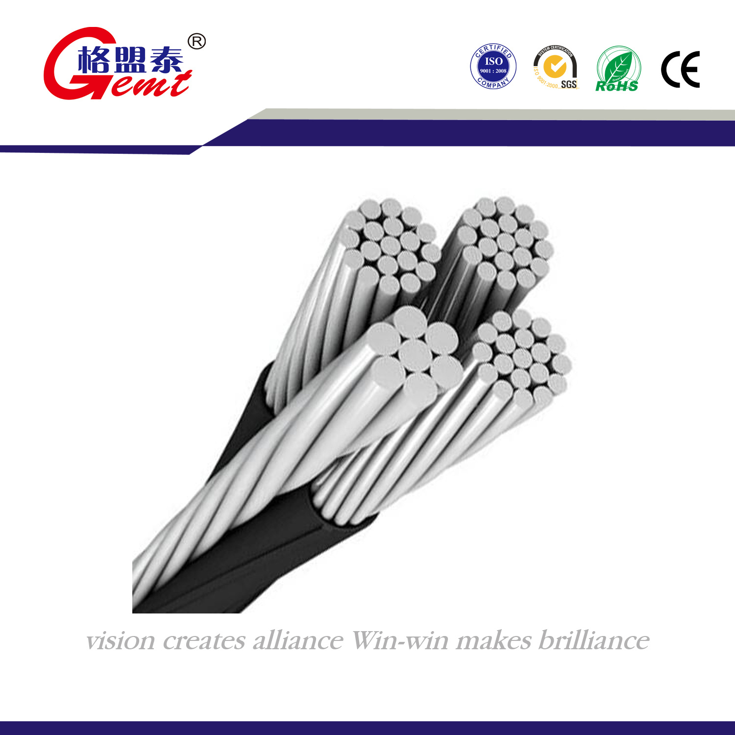 China 9AWG (7mm) Aluminium Cable PVC Insulation Stranded Wire Cable ...