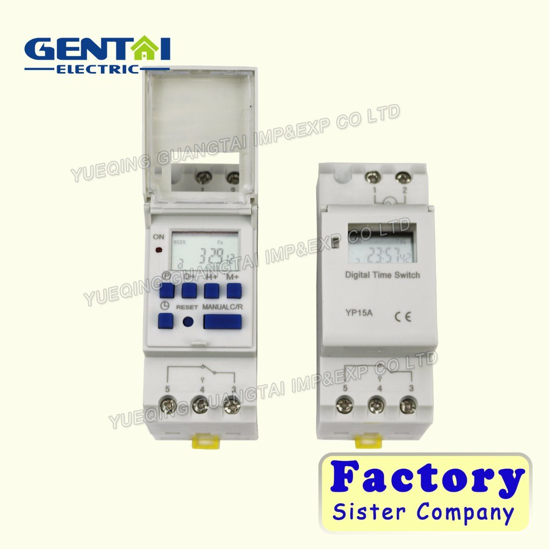 China Din Rail Time Relay Switch Digital Lcd Power Programmable Electronic Dc Timer 12 Volt