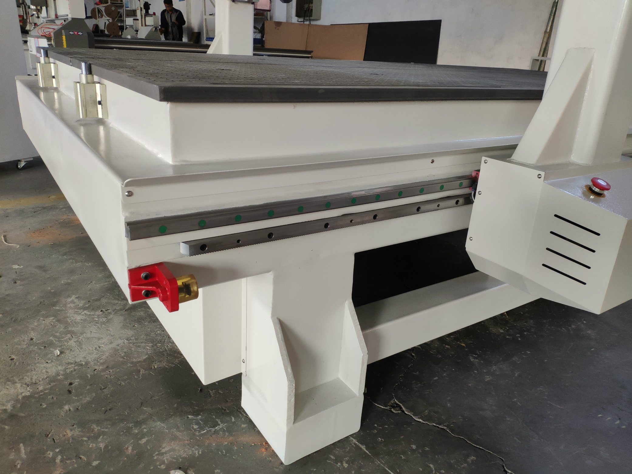 China Wood Mdf Furniture Cabinet Door Making Atc Cnc Router