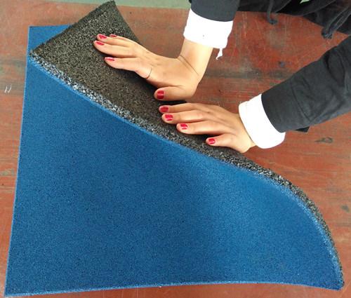 China crossfit rubber gym floor mat weight room epdm floor mat