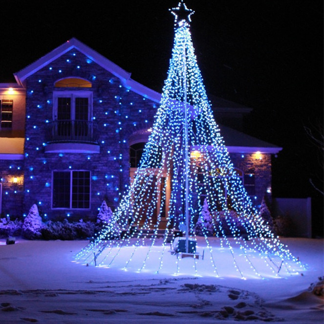 Led Christmas Light.Hot Item New Led Christmas Lights Outdoor Led Christmas Flag Decoration Light
