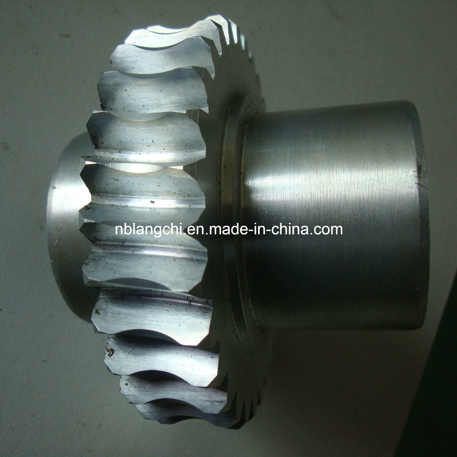 Customized Trapezoidal Zinc Alloy Curved Worm Wheel Gear Nuts Tr40X7