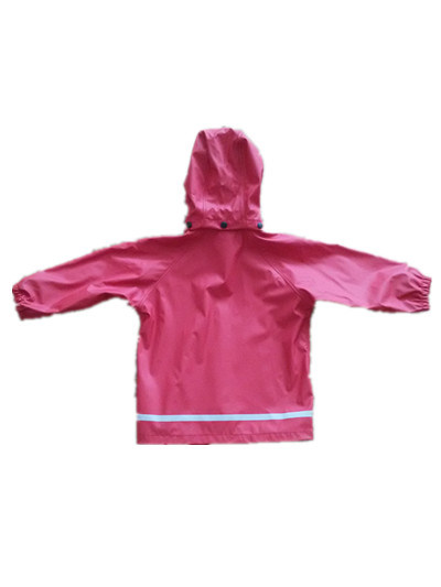 PU Solid Raincoat for Children/Baby pictures & photos