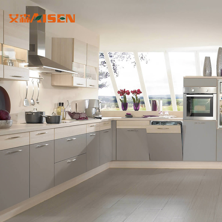 China Simple Kitchen Design Color Combination Modern
