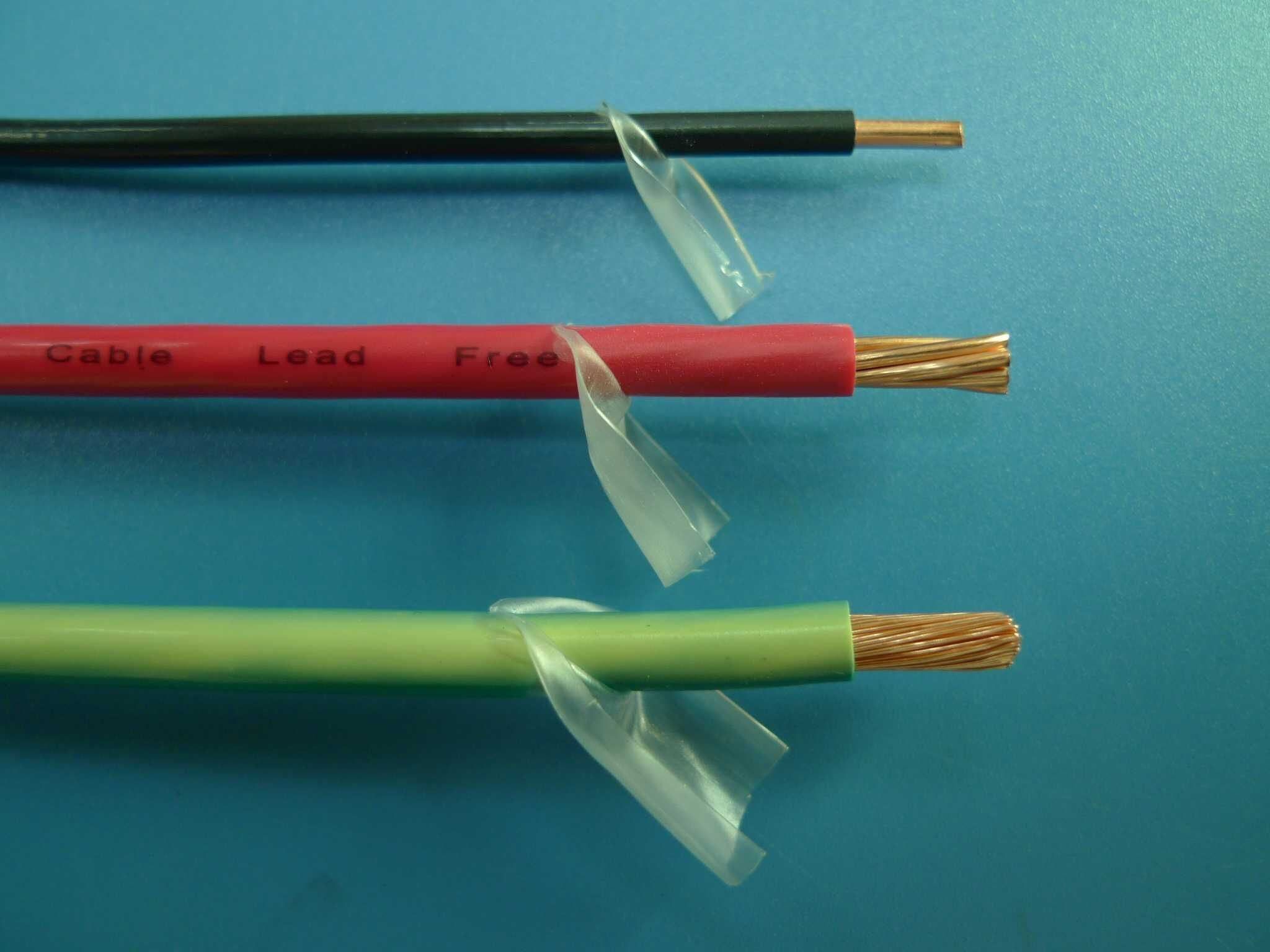 China Thhn Thwn Thw Electrical Wire in UL Standard Photos & Pictures ...
