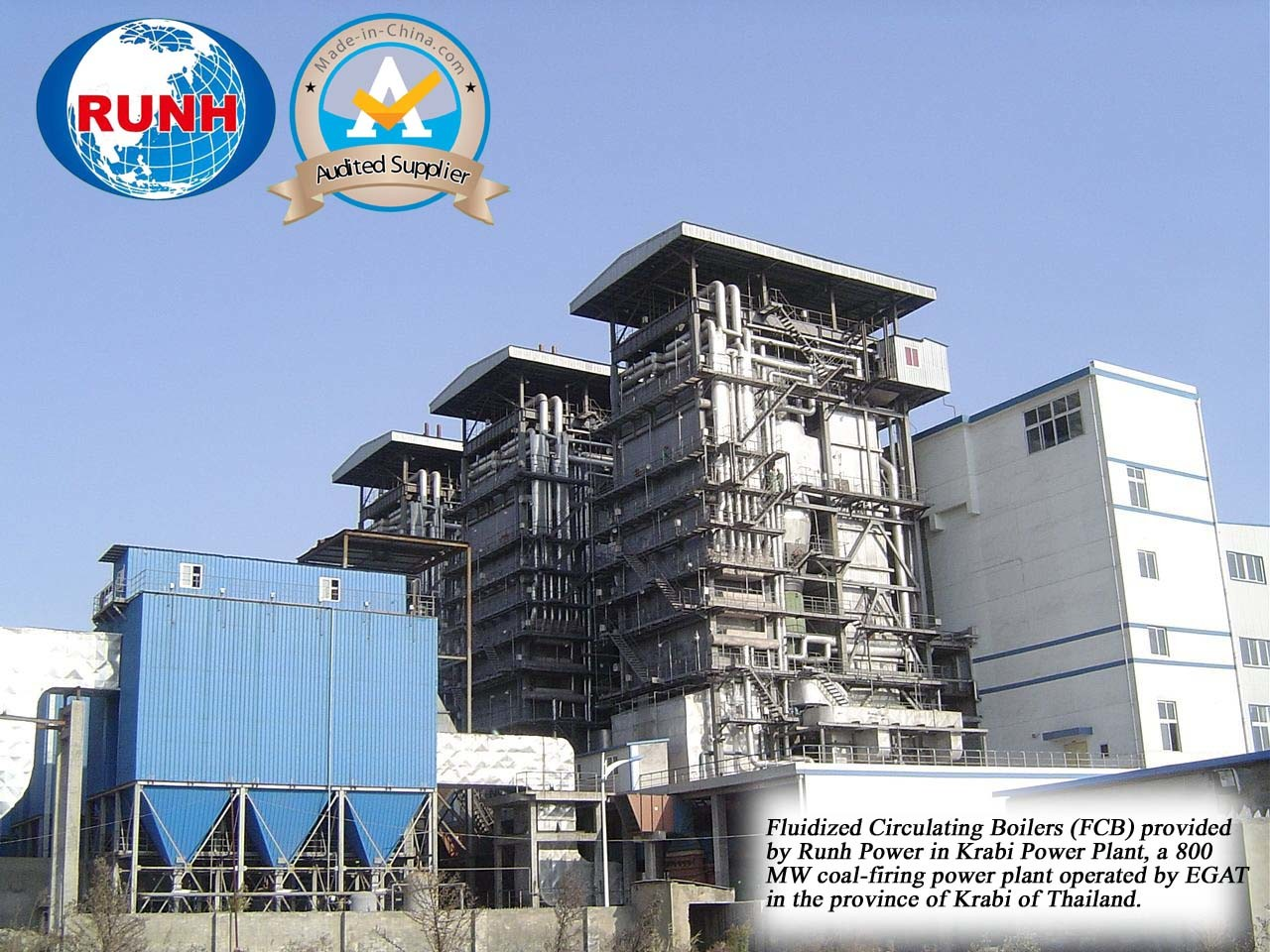 China Forced Circulation Boiler for Power Supply of Power Station ...