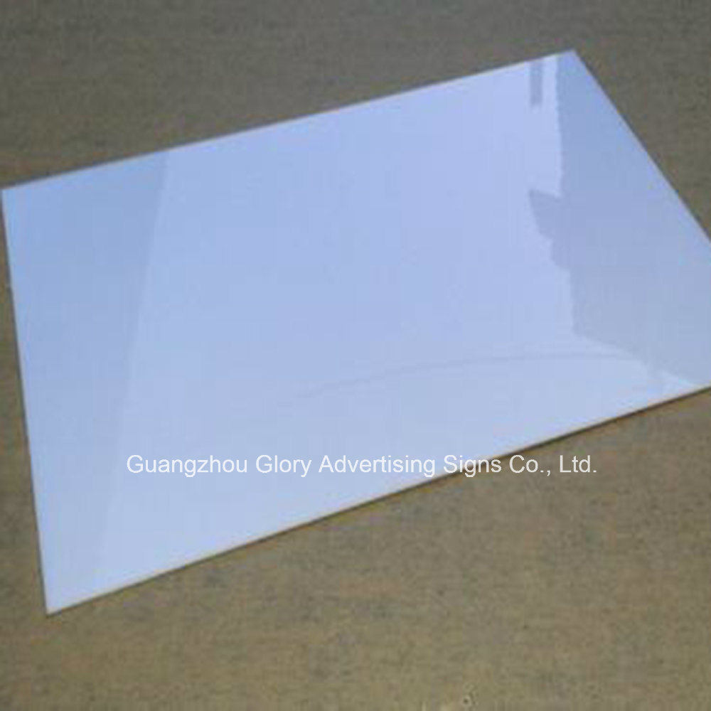 China Milky White Color Plastic Pmma Casting Acrylic Sheet