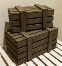 China Wooden Rustic Crate Wood Shipping Crates For Sale