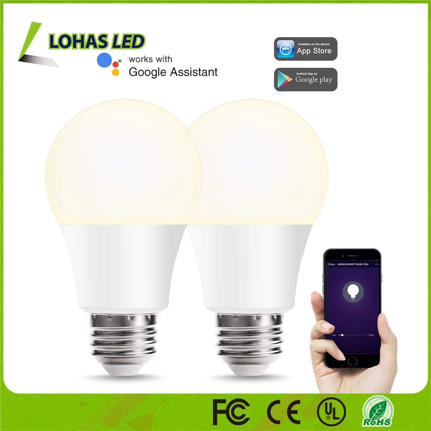 Best Selling A19 8W E26 5000K WiFi Smart LED Light Bulb pictures & photos