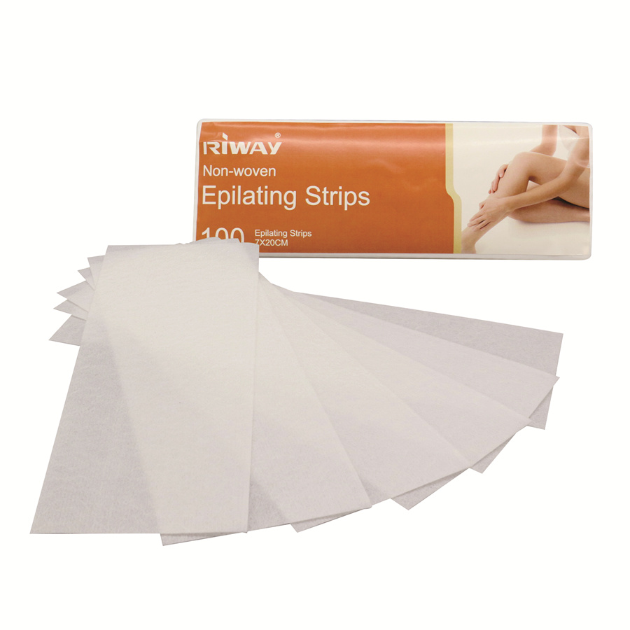 China Face Body Nonwoven Waxing Strips Hair Removal Depilatory Wax