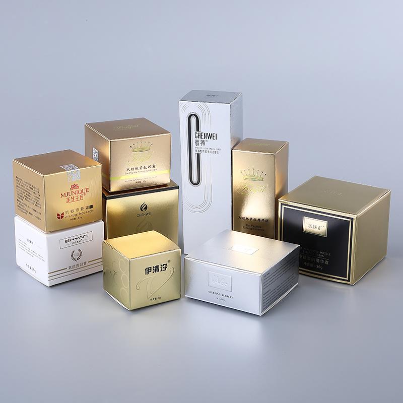 [Hot Item] 6c UV Foil Printing Metal Silver Paper Packaging Box