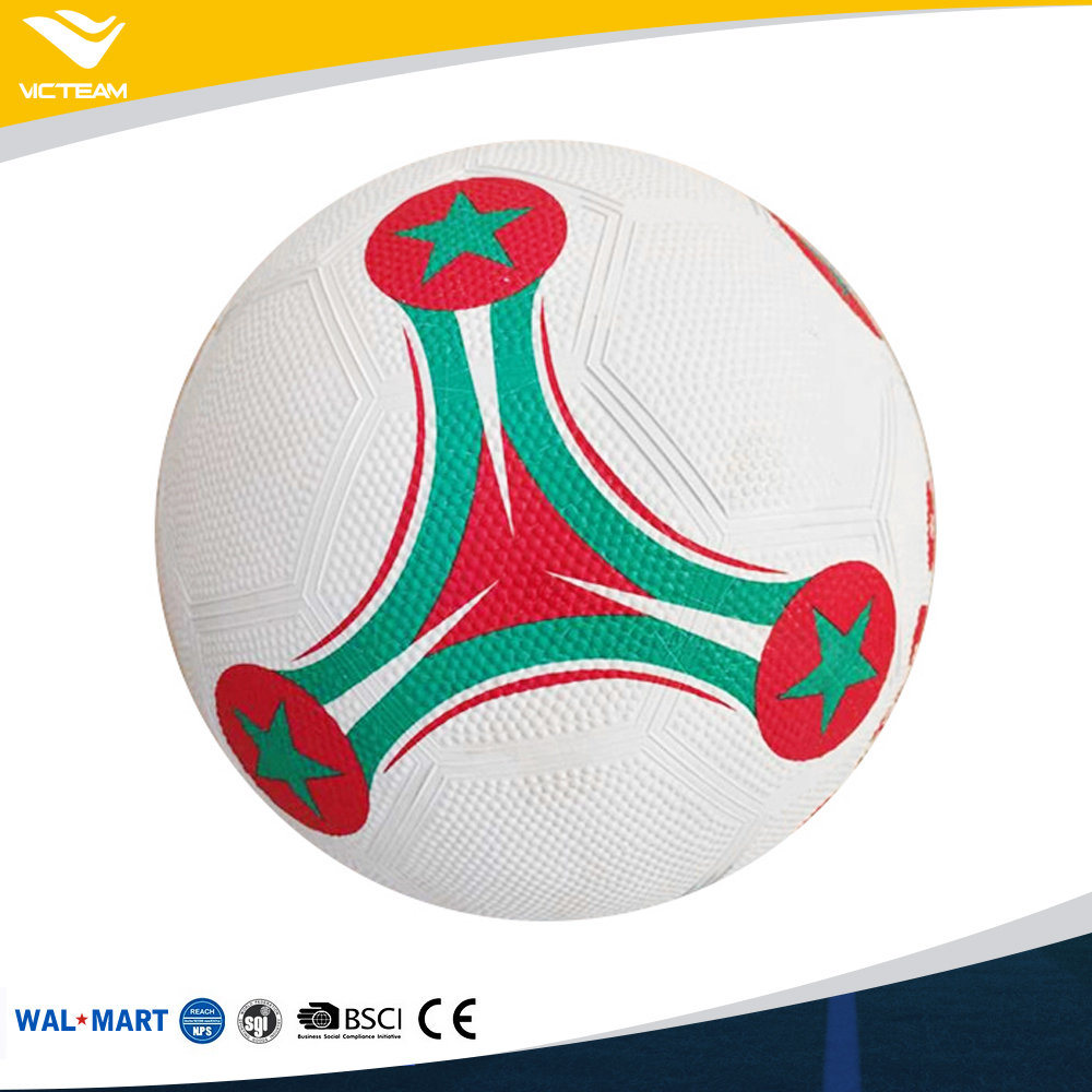 Hot Sale Tuff Rubber Soccer Ball Size 5 Wholesale
