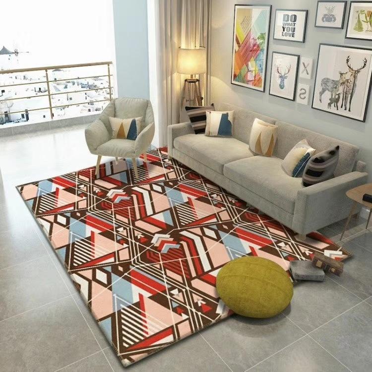 [Hot Item] Hot Sale Durable Eco Friendly Decorative Printing Living Room  Carpet, Table Carpet, Chair Carpet, Bedroom Carpet