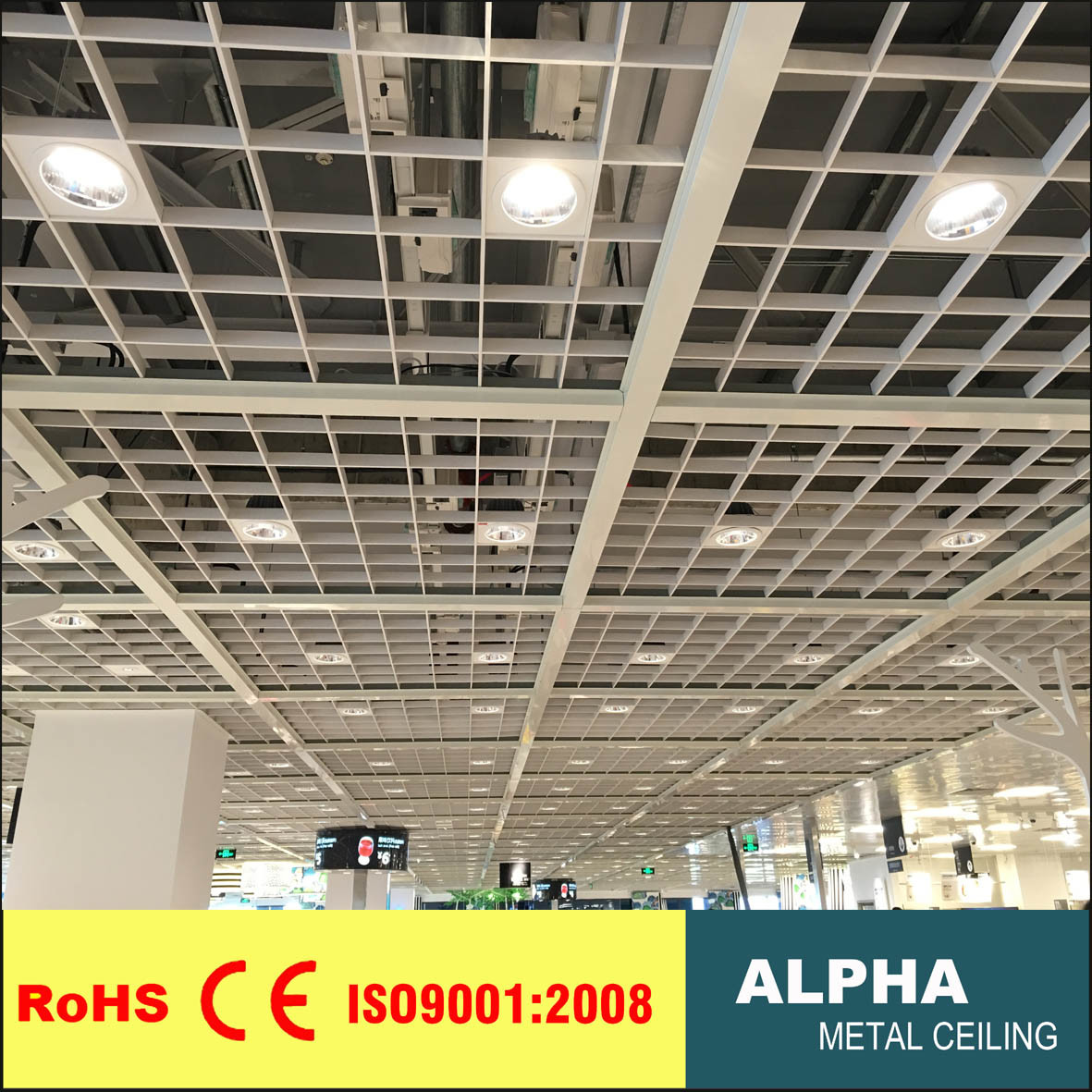 China High Quality Aluminum Roof Panel Grille Ceiling