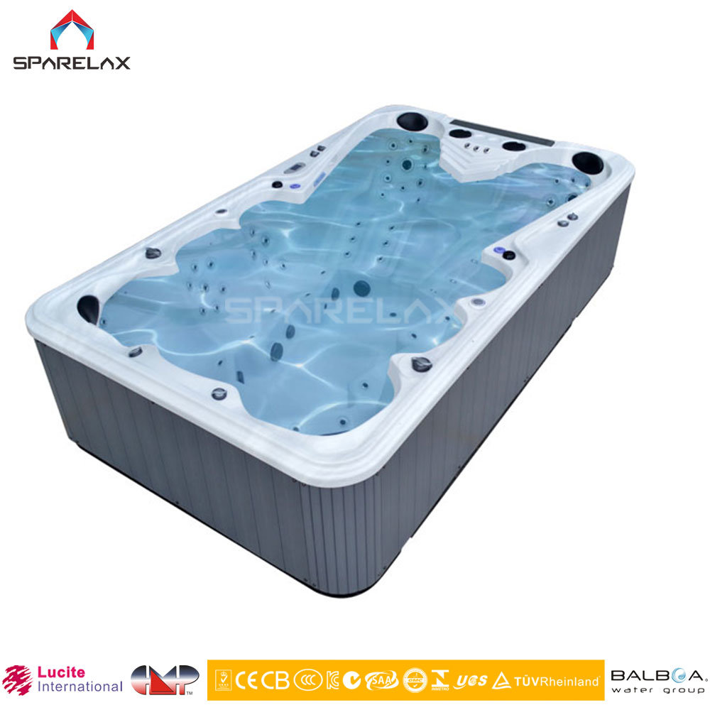 Acrylic Swimming Pool SPA Jacuzzi 9-10 Persons Hot Tubs for Party